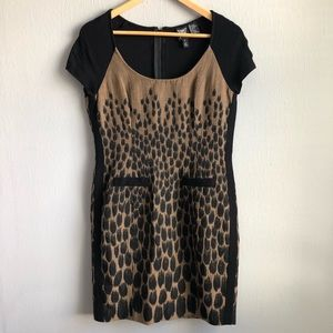 Worth business wear cheetah print dress 6.
